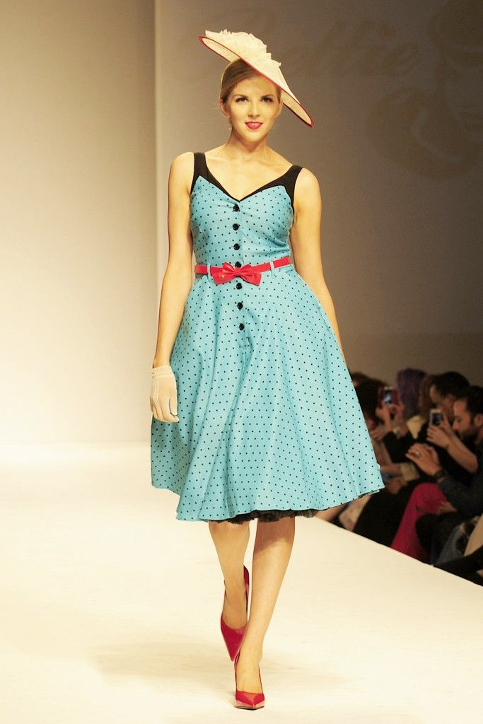 Bettie Page Clothing RTW Spring 2014 [Photo by Amy Graves]