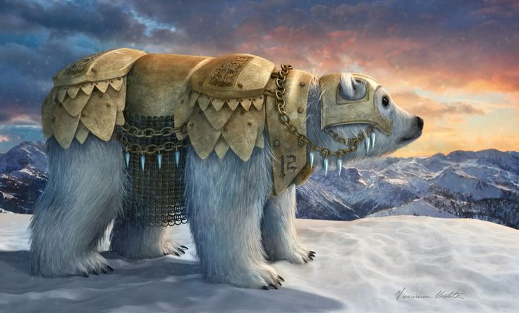 Panserbjørn by Veronica Voutila | Fantasy | 3D | CGSociety