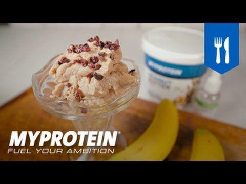 Healthy Dessert | Peanut Butter 'Banana' Ice Cream Recipe | Myprotein Video - The Zone