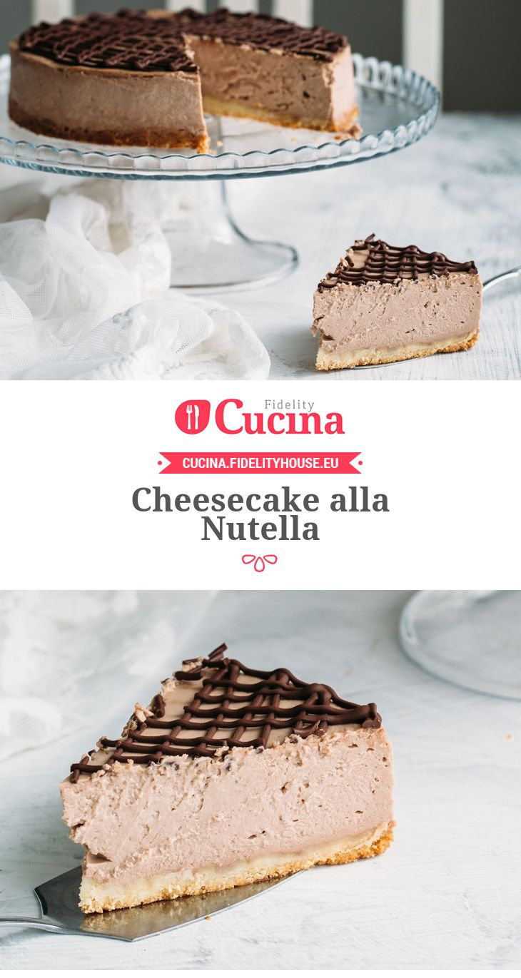 #Cheesecake alla #Nutella