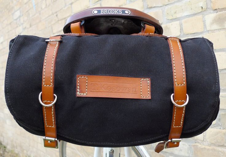 Classic Vintage Style Bicycle Bag (Ready to Ship), via Etsy.