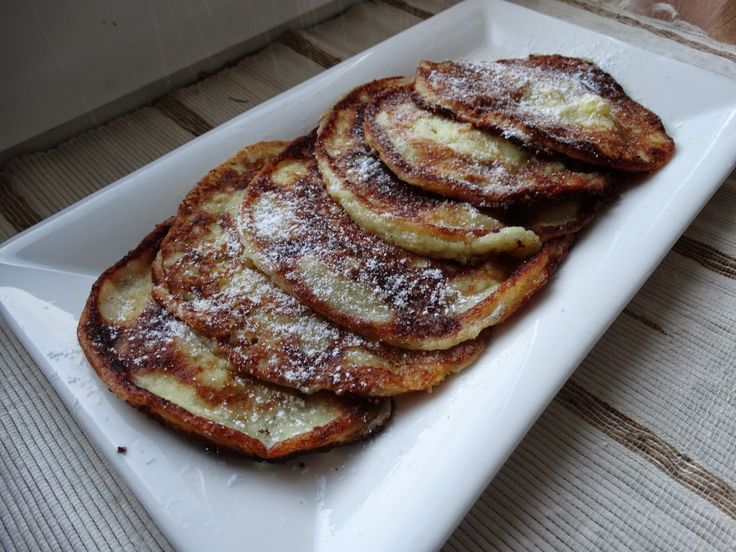 MAMO WIESZ ...?: Racuchy z serem i jabłkami