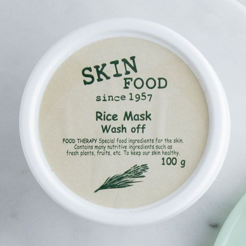 Use this mild exfoliant just once a week to keep your face looking youthful and radiant. This light, milky wash-off facial mask gently sloughs off dead skin cells while the rice extract brightens your