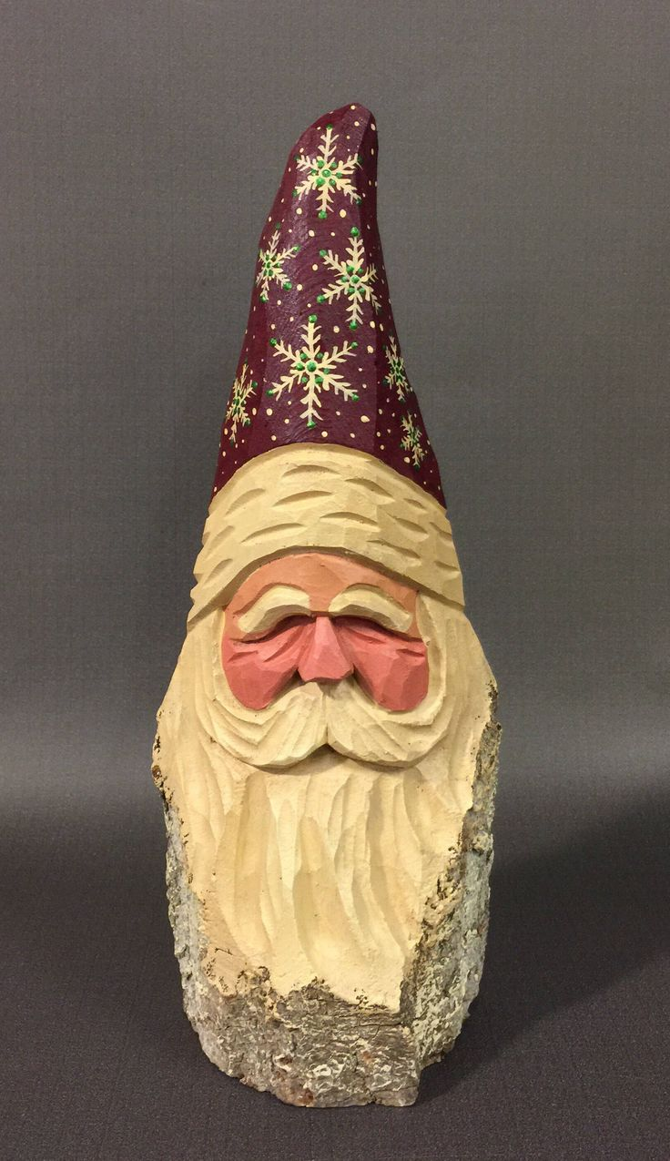 Best images about hand carved santas on pinterest
