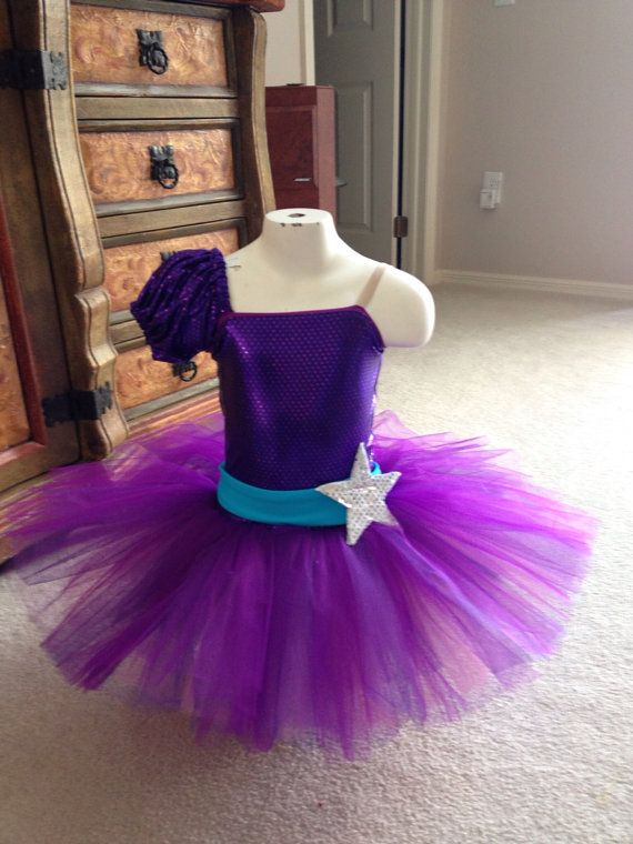 Popstar Barbie inspired purple tutu 4t por primafashions en Etsy