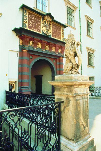 The Swiss Gate - http://www.hofburg-wien.at/en/wissenswertes/die-hofburg/baugeschichte.html
