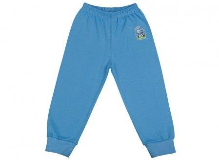 Pantalonaşi cu elastic în talie albastru deschis 100% bumbac | Cod produs: NIG120