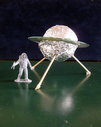 Has your child been visited by a ufo create an upcycled for Outer space crafts