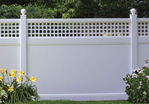 Bufftech Privacy Fence Vinyl Fencing By City Fence Buffalo