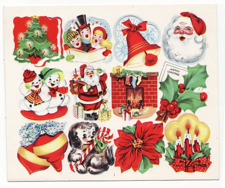 Christmas Sticker Fun in 2020 (With images) Christmas