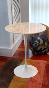 Knoll Saarinen Small Round Side Table