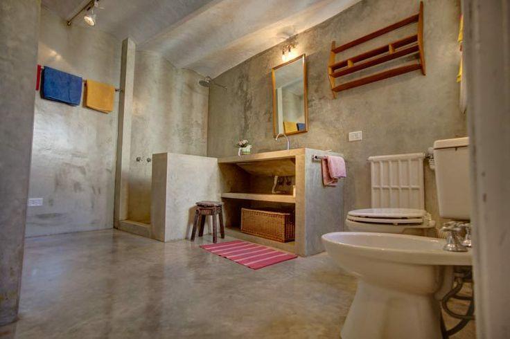 Ba o cemento alisado for the home pinterest - Cemento alisado banos ...