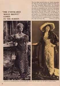 Debbie Reynold as The Unsinkable Molly Brown..Pictures of Unsinkable Molly Brown