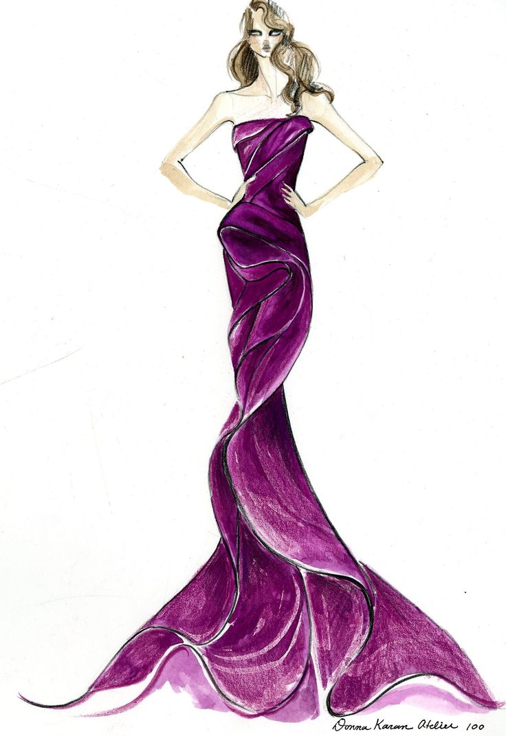 The vision before the gown donna karan atelier for emmy for High couture designers
