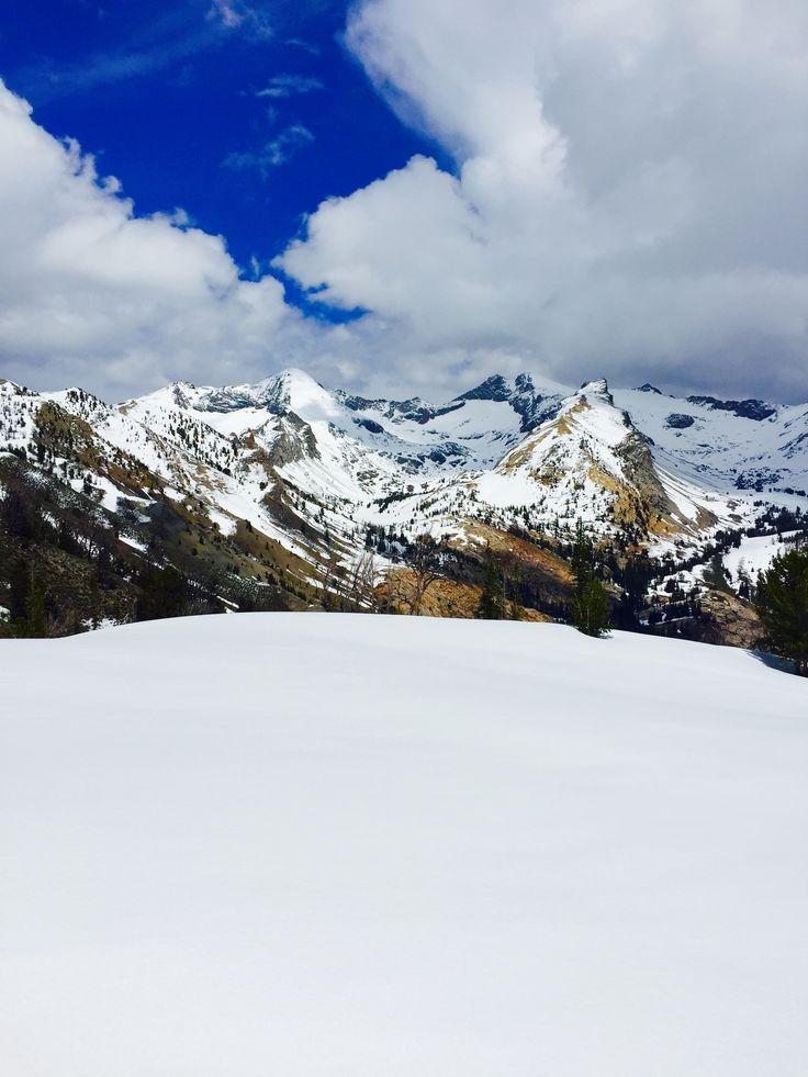Pioneer Mountains Sun Valley Idaho-Spring Adventure