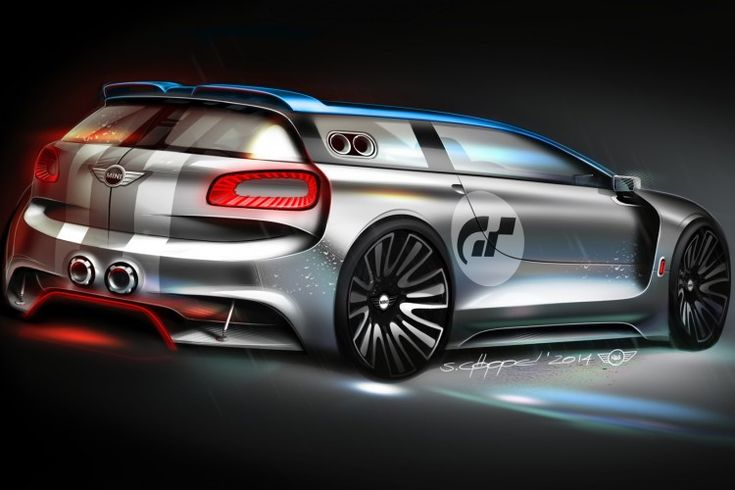 image of MINI Clubman Vision Gran Turismo F54 GT6 Rennwagen Computerspiel 04…