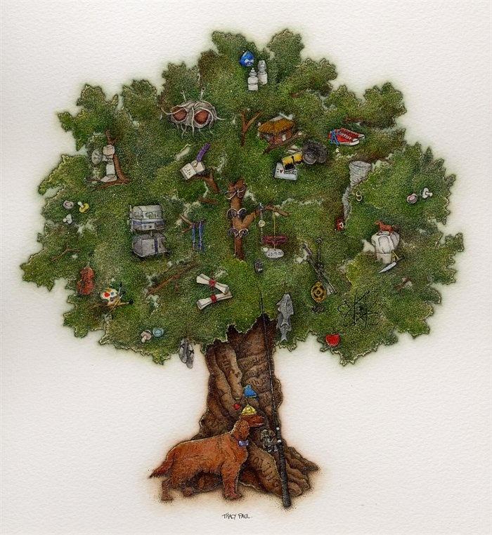 Hilton's Tree by Tracy Paul