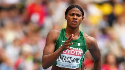 Ace Nigerian runner Blessing Okagbare is through to the 100m semi-finals at Rio 2016 Olympic Games. In Heat three on Friday August 12 Okagbare finished second clocking 11.16s to take one of the two automatic qualification spots. The Delta State born sprinter was placed on Lane 5 for the race and finished second comfortably.
