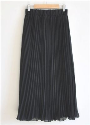 Pleated Chiffon Skirt (in 5 colors) Price: $30.95 Qualifies for free shipping #skirt #fashion