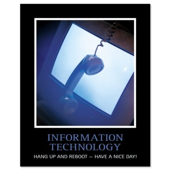 Humor, prints - Information Technology I Print by PaperDirect
