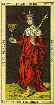 Thoth Etteillla - Rei de Copas, Homen Loiro