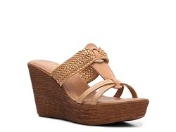 The most comfortable wedges I've ever owned! Italian Shoemakers Berry Wedge Sandal