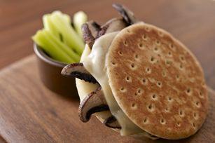 Mozzarella-Mushroom Melt recipe