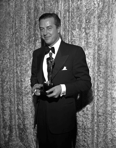 The 18th Academy Awards | Oscar Legacy | Academy of Motion Picture Arts and Sciences  1945 Best Actor Ray Milland for Lost Weekend