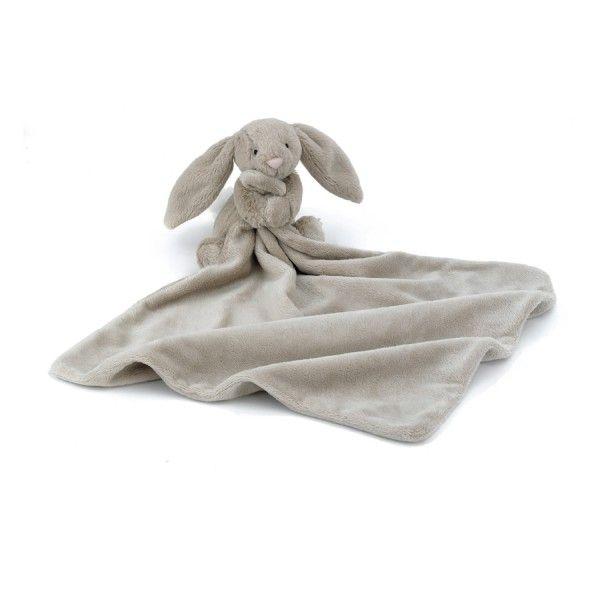 Bashful Beige Hase Schmusetuch von Jellycat - Bonuspunkte sammeln, auf Rechnung bestellen, DHL Blitzlieferung!