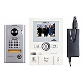 Aiphone Colour Intercom Kit JKS Handsfree with Stainless Steel Door Station no…