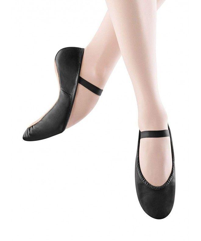 Toddler//Little Kid Bloch Dance Dansoft Ballet Slipper ,Black,8.5 E US Toddler