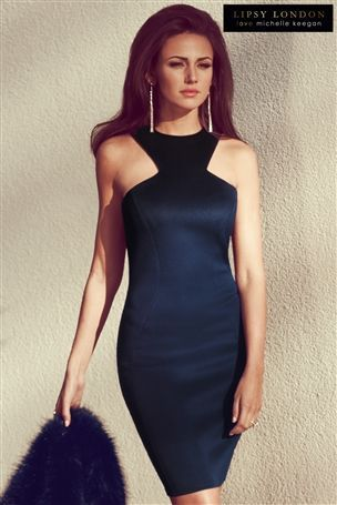 Michelle Keegan Racer Front Bodycon Dress #nextsummersun #whatiwouldwear #holidayfashion
