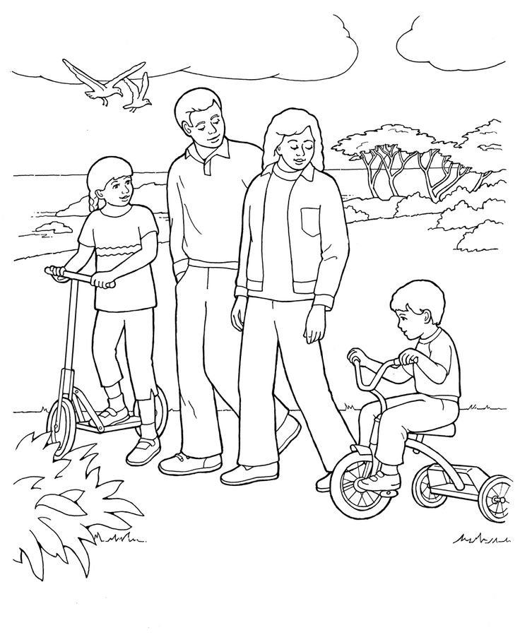 primary coloring pages kids - photo#8