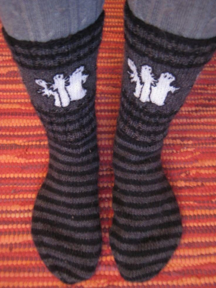 hattivatti sukat <3 <3  (koko 40)