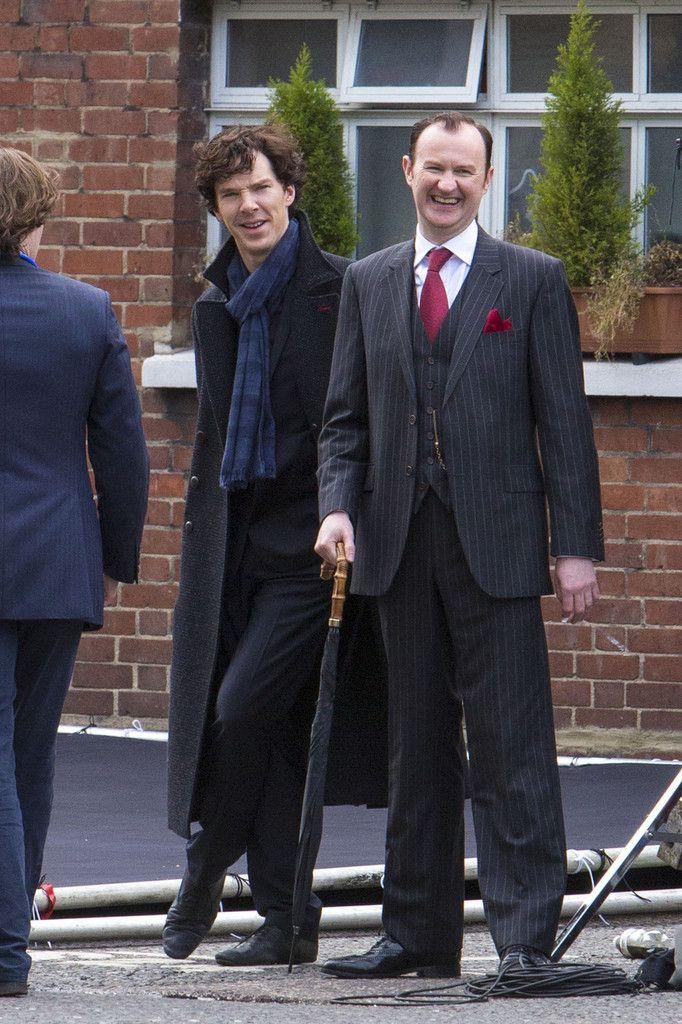 Benedict Cumberbatch Photo - Sherlock Films in London #setlock