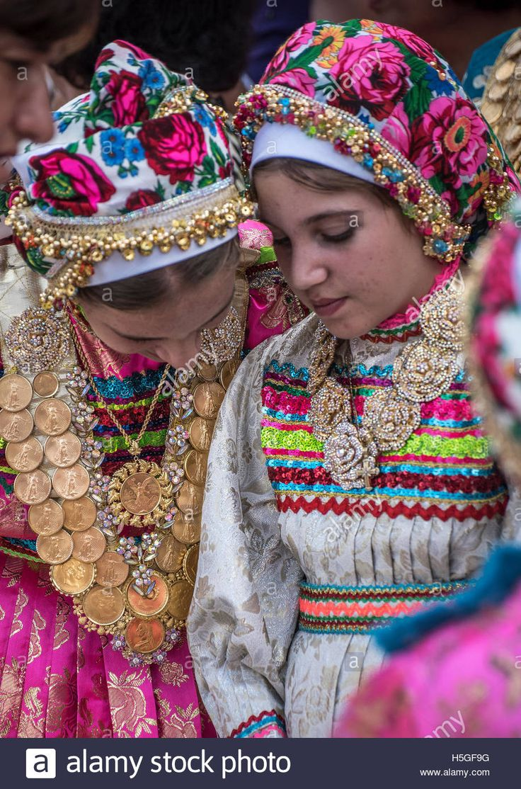 Celebration of Panagia day at Olymnpos village Karpathos Island Greece Contributor: Images & Stories / Alamy Stock Photo