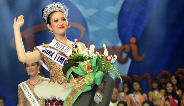 Foto dan Profil Elvira Devinamira Puteri Indonesia 2014