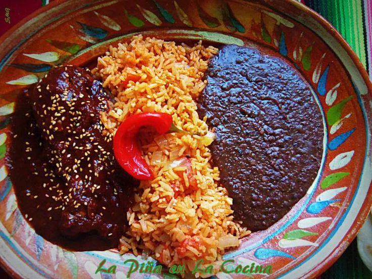 Mole de Pollo Mexicano-Chicken Mole #mexicanfood