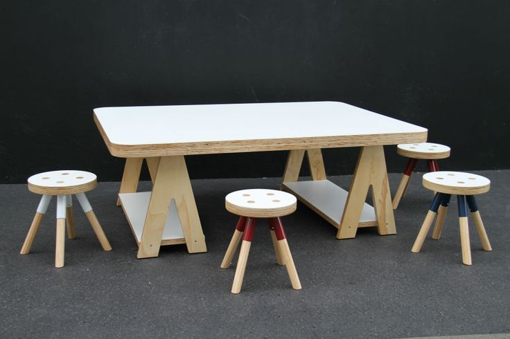 Art Table + Trestle LegsAvailable in 2 sizes1400 x 1000 x 500H or 2000 x 1000 x 500HLaminate Top available in a variety of colours.Other dimensions available POA.100% Designed and...