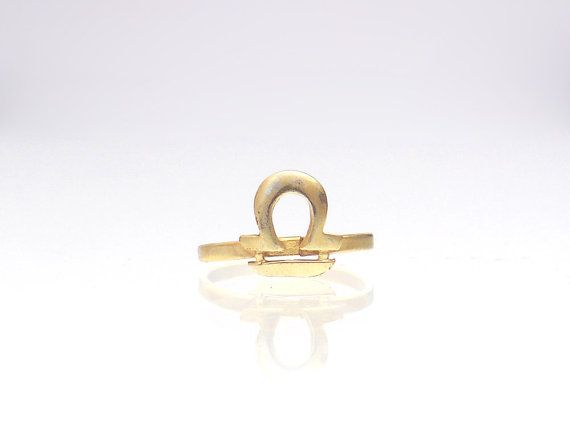 Libra Ring  October Birthstone Ring  Astrology by profoundgarden