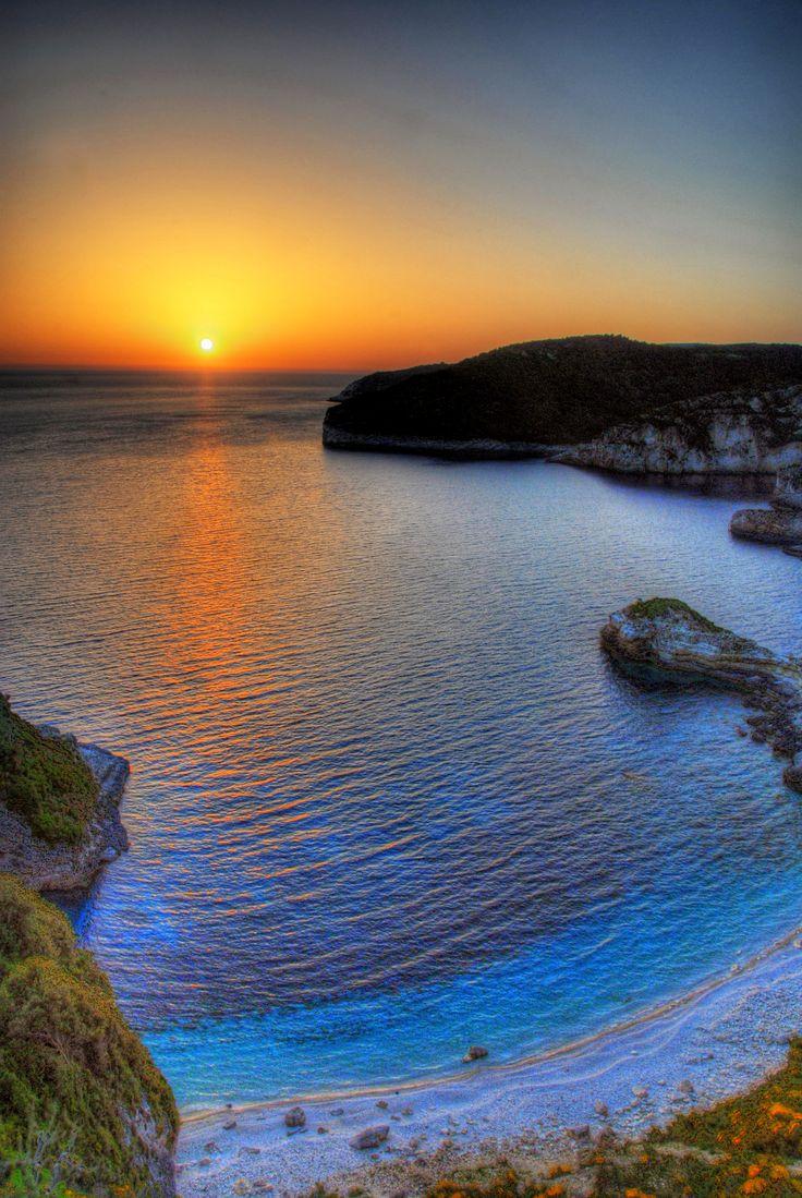 Galazio beach, Paxos, Greece