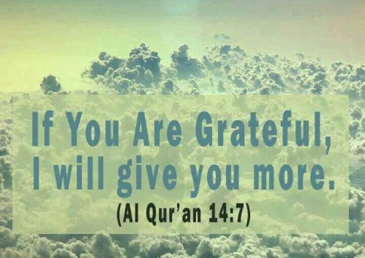 Al-Qur'an 14;7