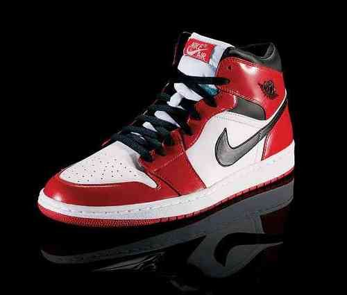 The Air Jordan I released by Nike in 1984. The shoe was banned by  commissioner