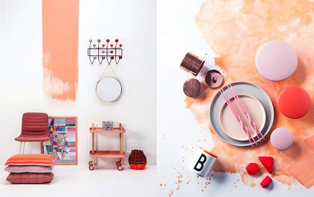 jenni-juurinen. Couleurs, tendances, orange, composition, peinture, meubles et design