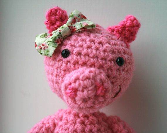 images about Puerquitos Pigs, Amigurumi and