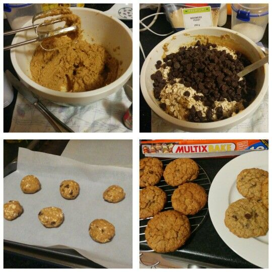 Lactation cookies (nut free) made using this recipe: http://m.justbreastfeeding.com/?url=http%3A%2F%2Fwww.justbreastfeeding.com%2Flow-milk-supply%2Flactation-cookies-increase%2F#2765