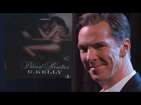 Benedict Cumberbatch recites R. Kelly lyrics and it's hilarious and just leave me here to die.