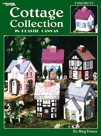 Plastic Canvas For Sale | Cottage Collection Plastic Canvas - Meg Evans - Craft Idea Designs ...