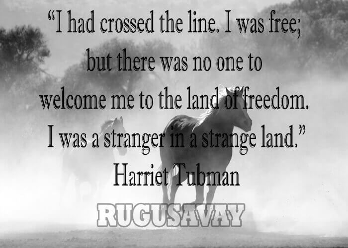 Best quotes of Harriet Tubman. Harriet Tubman quotations and sayings with pictures. Famous quotes of Harriet Tubman.