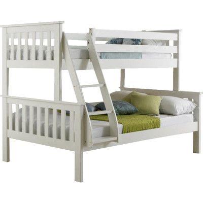 Home & Haus Niyat Triple Sleeper Bunk Bed & Reviews | Wayfair UK